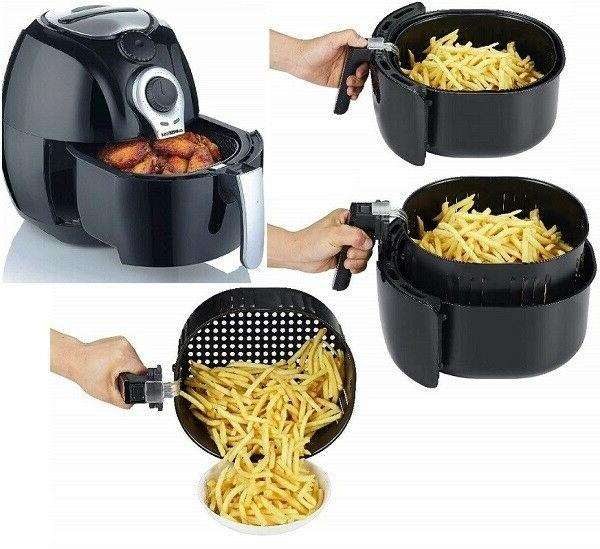 GoWISE USA Quart Dial Duty Air Fryer Easy