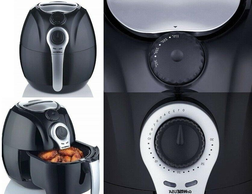 GoWISE Dial Heavy Duty Air Fryer Book Easy To