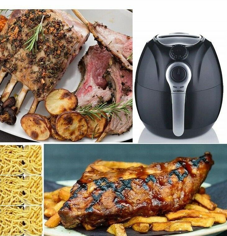 GoWISE USA Quart Dial Air Fryer Easy