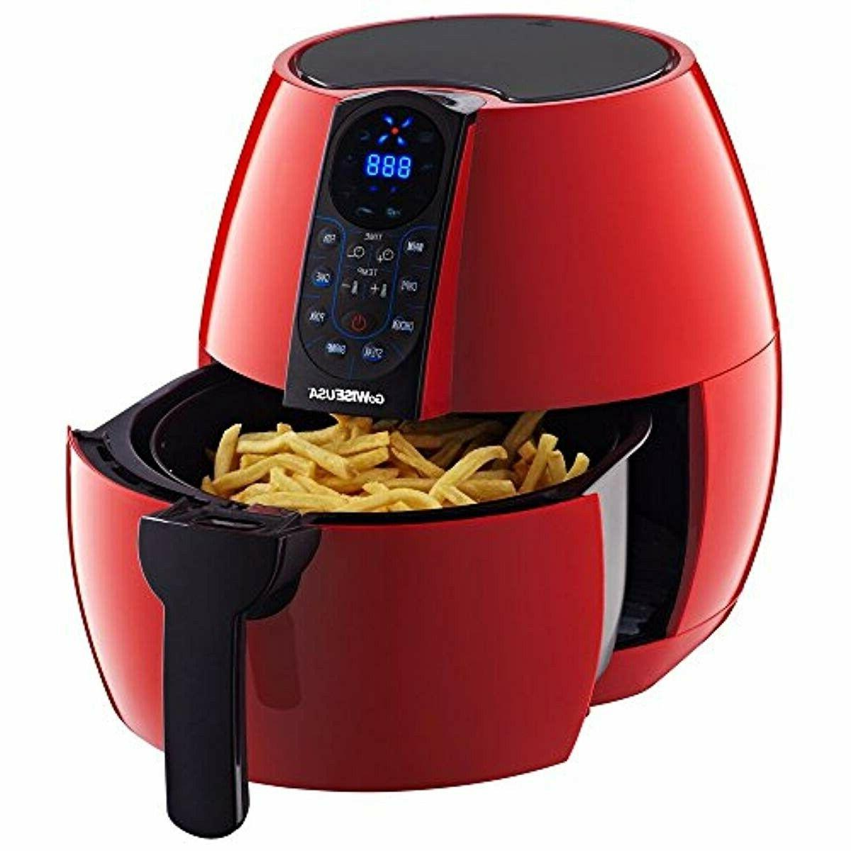GoWISE USA 3.7-Quart Programmable Air Cook GW22639