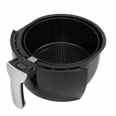 3.7QT 1500W Electric Air Fryer cooker Cooking Menu Setting Digital