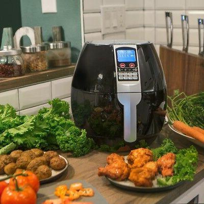 3 7qt 1500w electric air fryer cooker
