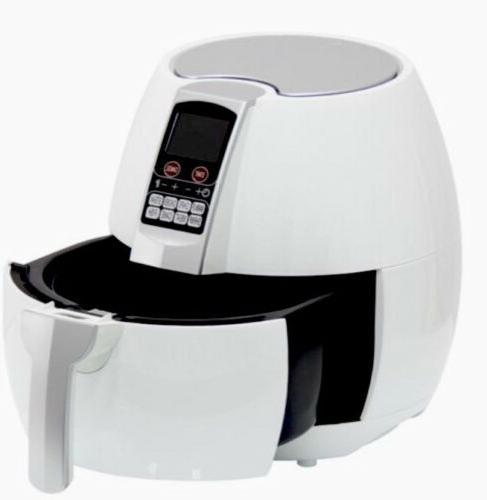 Best Products 3.7qt Nonstick Fryer White
