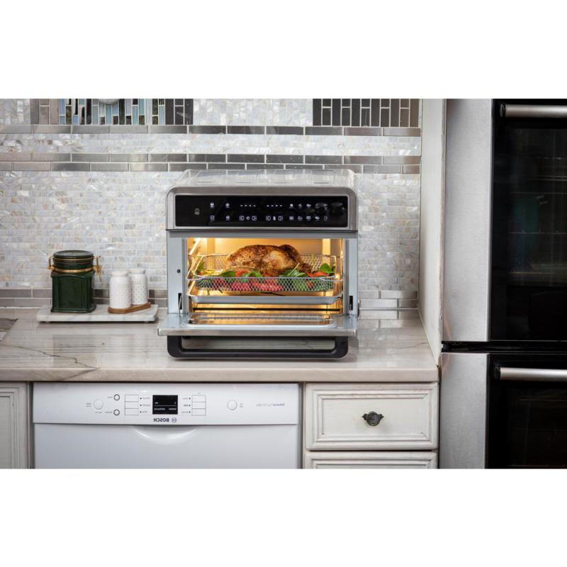 30Qt Touchscreen Toaster Oven 3 Cooking Levels, Dehydration, Acce