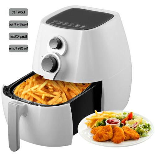 Electric 3.5L  No Oil Air Fryer Temperature Control Timer wi