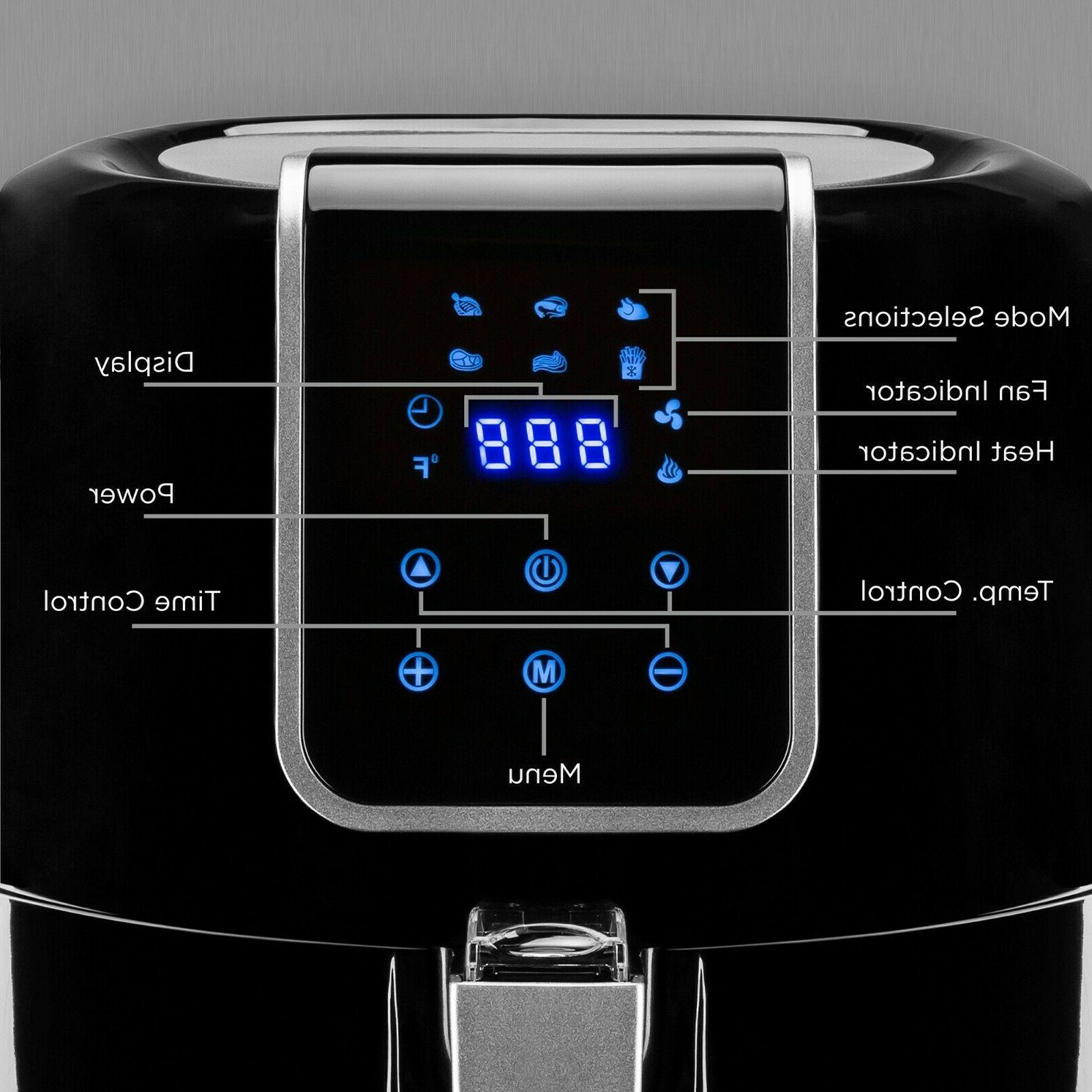 Best Choice 6-in-1 Digital Family Sized Air Fryer Kitchen