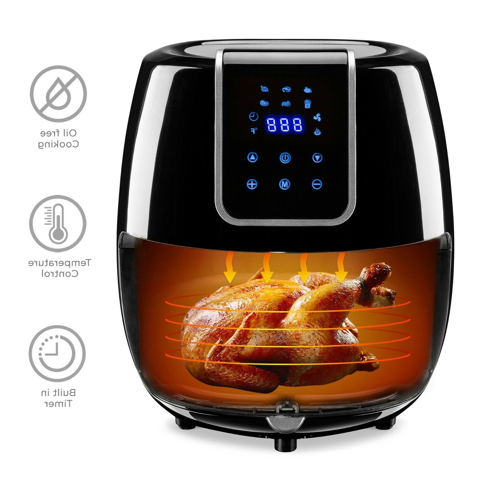 Best Choice Products 5.5qt 6-in-1 Digital Sized Air Kitchen