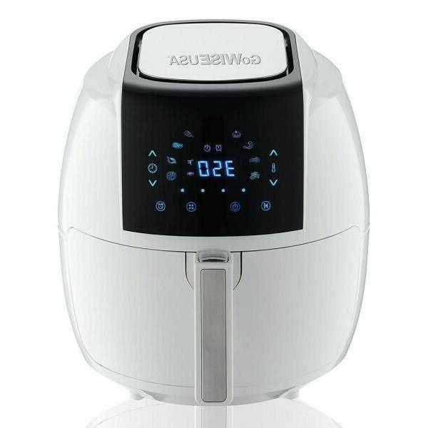 GoWISE 5.8-QT 8-in-1 Fryer + 50 Recipes your Air