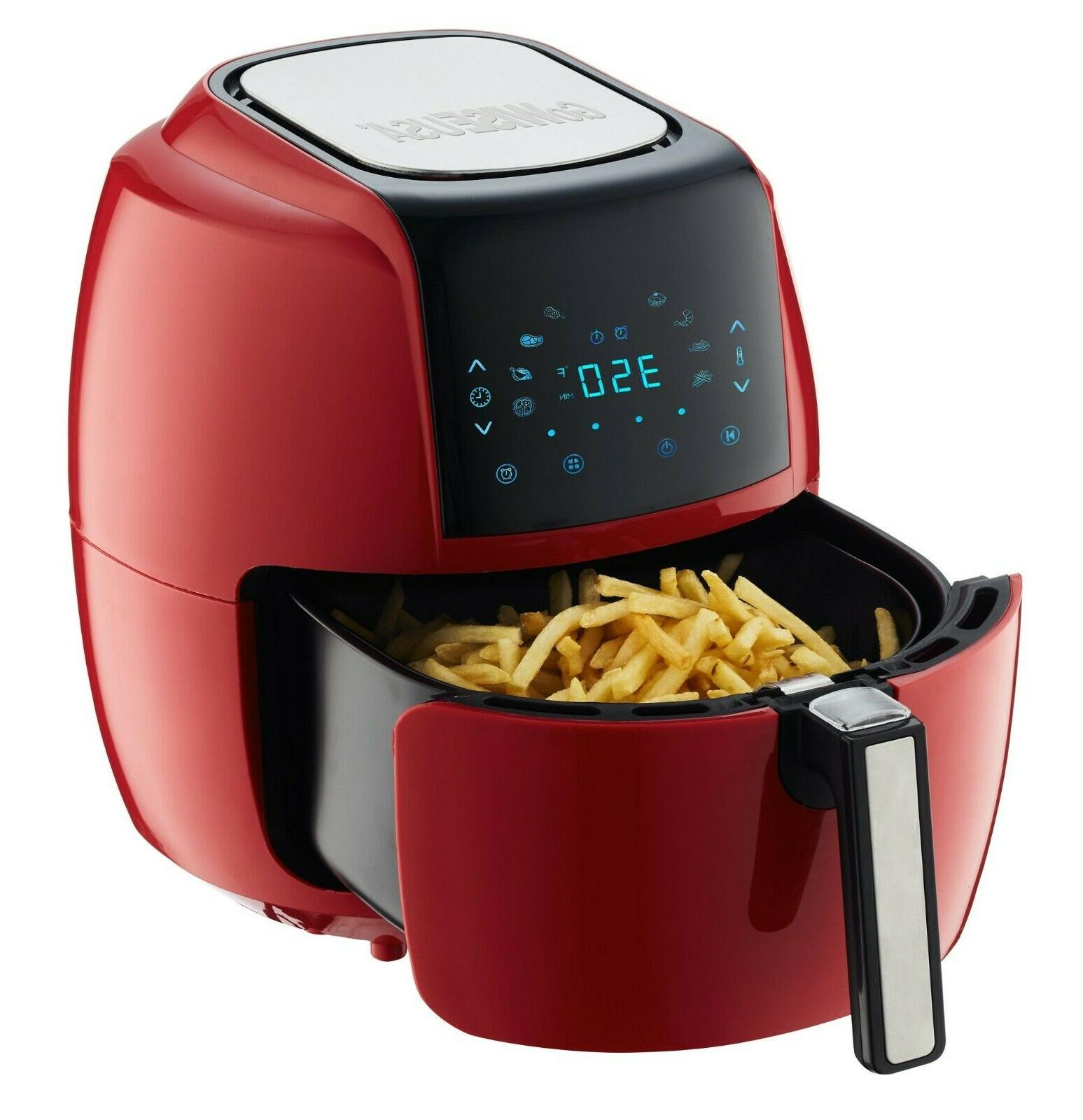 GoWISE USA 5.8-QT 8-in-1 Air + 50 Recipes for your Air