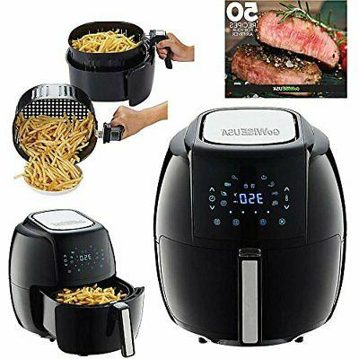 GoWISE USA Electric Fryer 50 Recipes Book