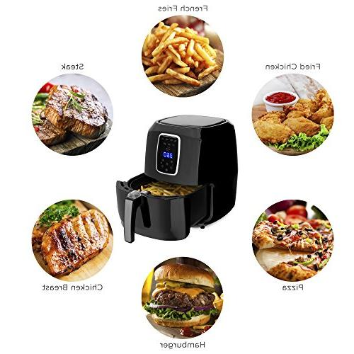 Best Choice Products 7-in-1 Electric Air Fryer Kitchen w/LCD Screen, Timer Black