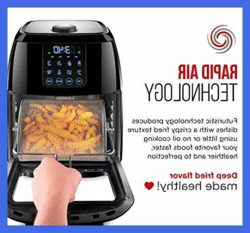 6.3 Quart Digital Air Fryer+ Rotisserie Convecti Fryer