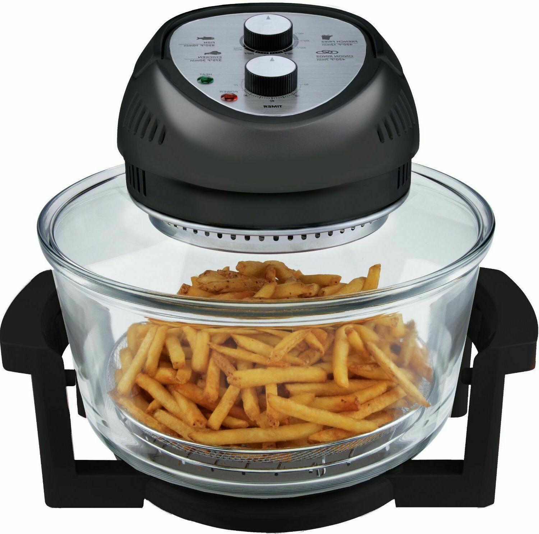 Big Boss Air Fryer Oil Less Healthy 1300W XL Capacity 16-Qua