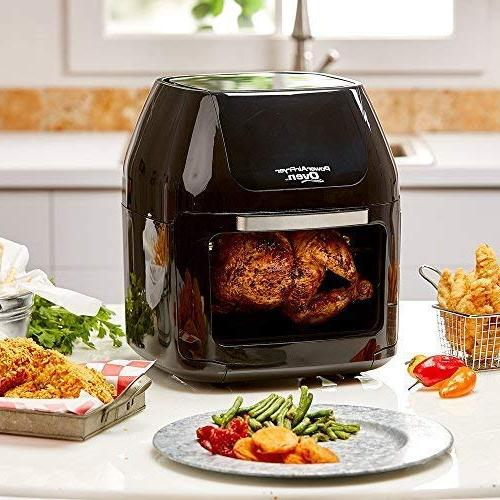 Fryer in 1 Features with Professional Rotisserie