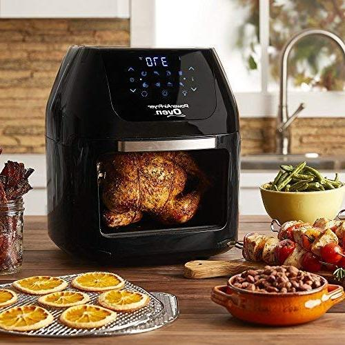 6 QT Fryer With in with Rotisserie