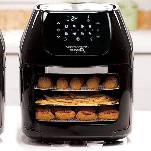 6 QT Air Fryer in Cooking with Dehydrator Rotisserie