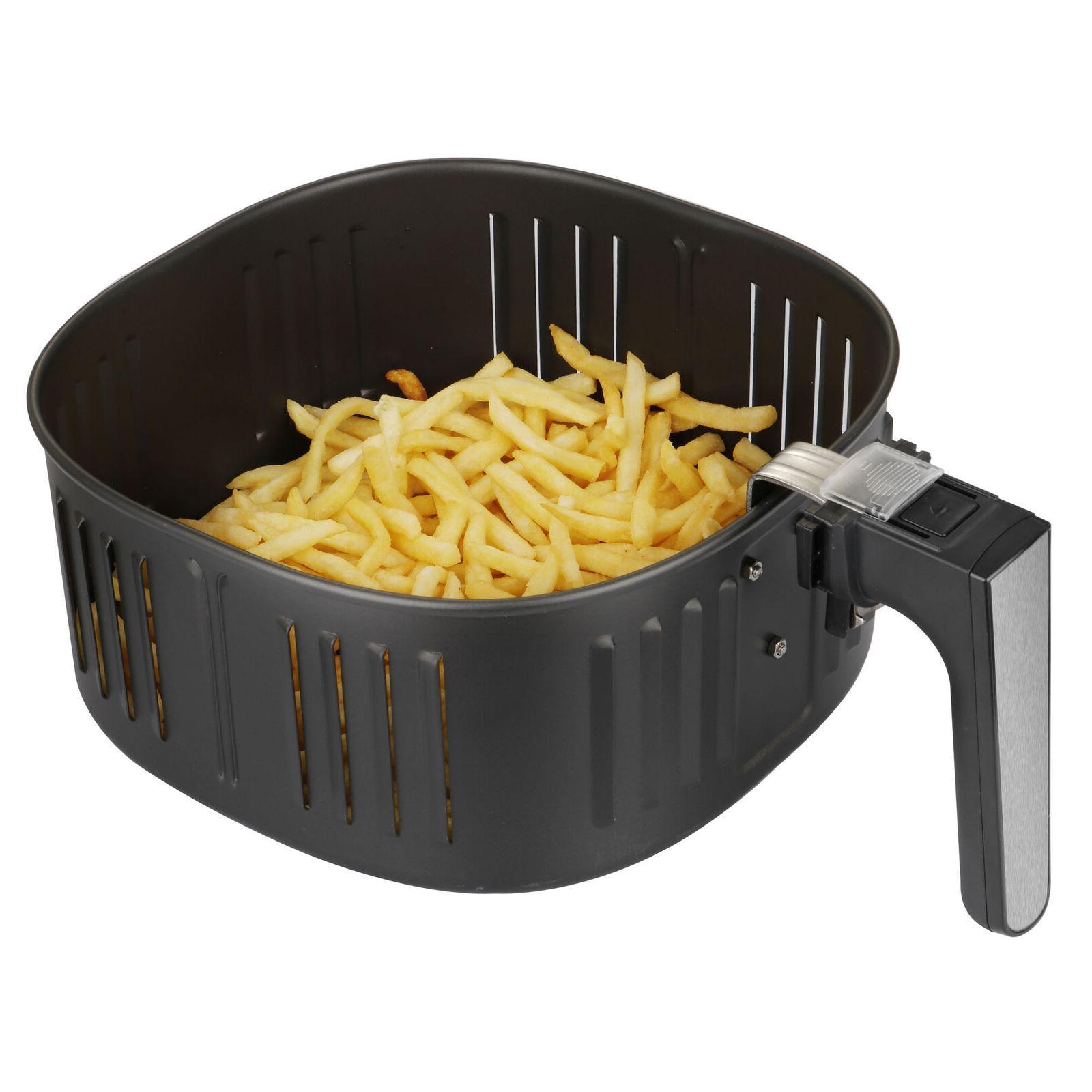 7.6QT Large Fryer w/Capacity Expansion 1700W Digital Screen