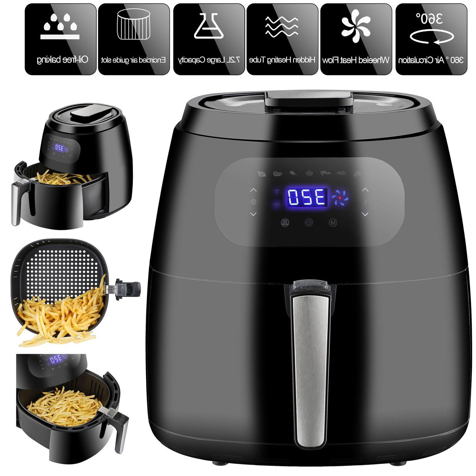 1700W Oven Screen Hot Air Fryer Cooker