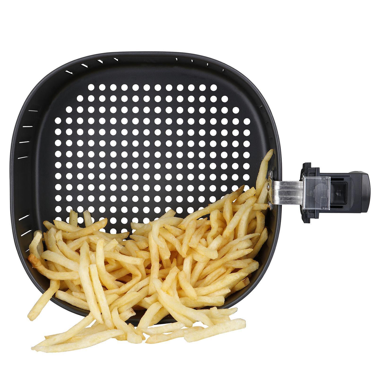 7.6QT Large Fryer w/Capacity Digital