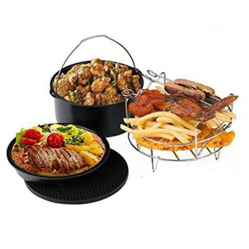 """7"""" Air Airfryer Basket barbeque Grill Plate"""