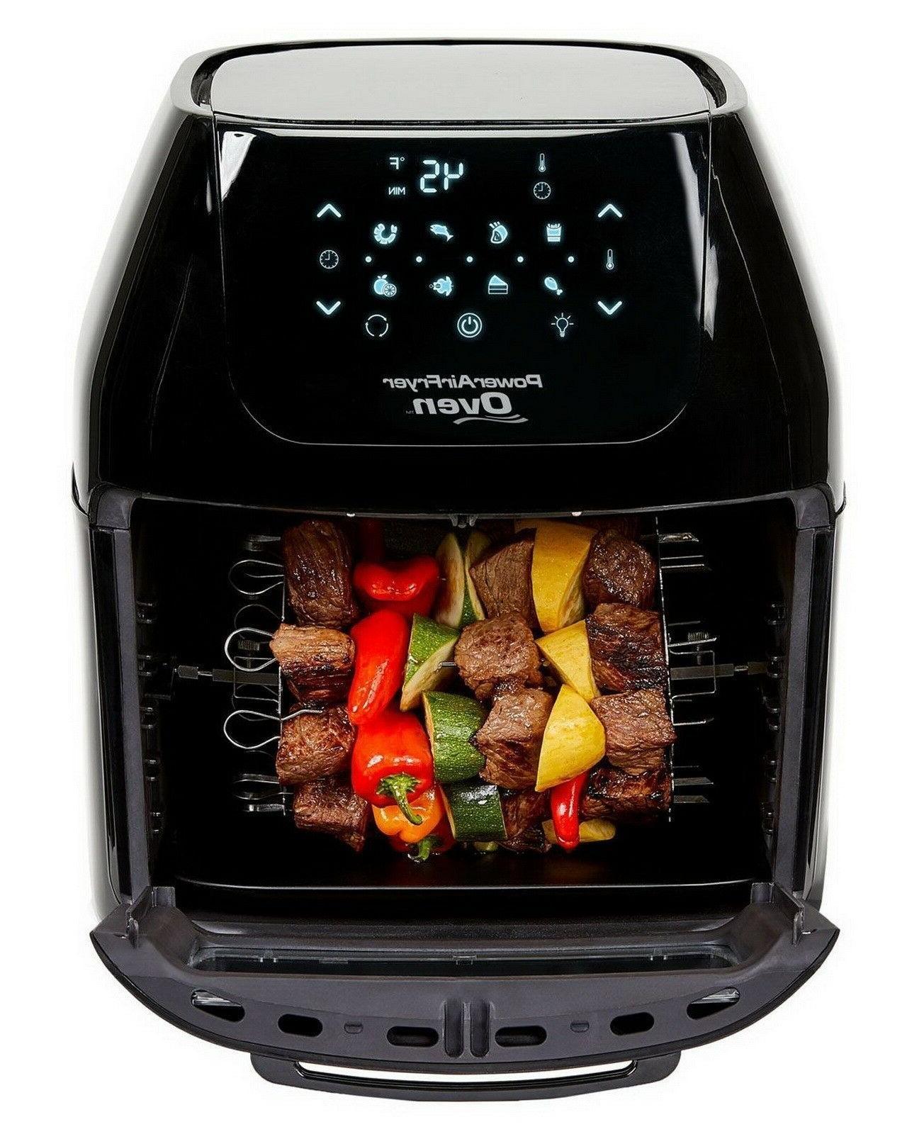 Power Oven 7-in-1 Multi Cooker Fryer Dehydrator Rotisserie