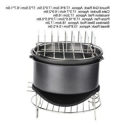 7Pcs/Set Fryer Accessories Kit Parts Home 3 SH