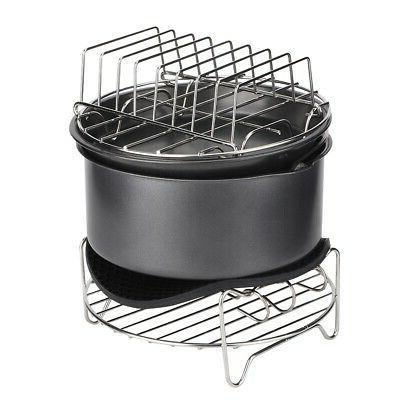 7pcs set barbecue air fryer accessories set