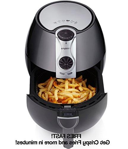 Air Fryer with airfryer cookbooks