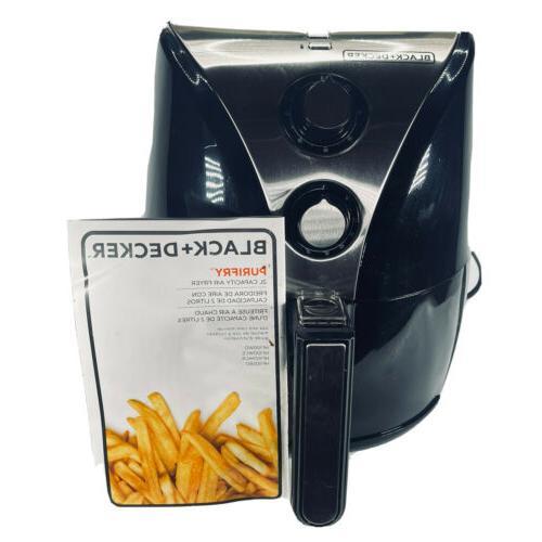 BLACK+DECKER Purify 2-Liter Fryer,