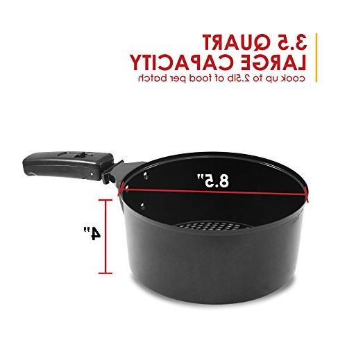 Elite Platinum 3.5 Quart Fryer 26 Full