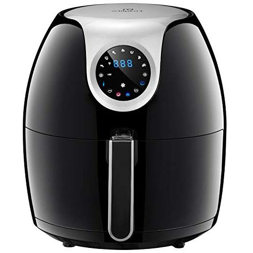 Tidylife QT Air 1700W in Oilless Multi-Fryer, Mins Timer, Fast Cooking, Safe, Auto Shut Off,