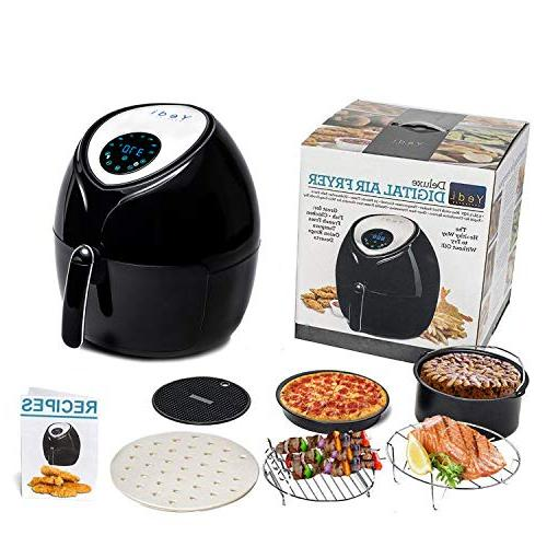 Total Fryer, 8-in-1 Endless Recipes, and Deluxe Houseware