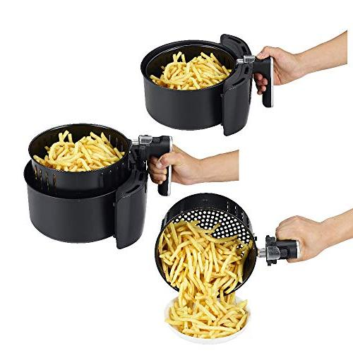 GoWISE USA with Set + 50 Recipes for Your Air Fryer