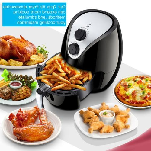 Air-Fryer-Accessories-7-Inch,6 pieces Set for - 5.3QT