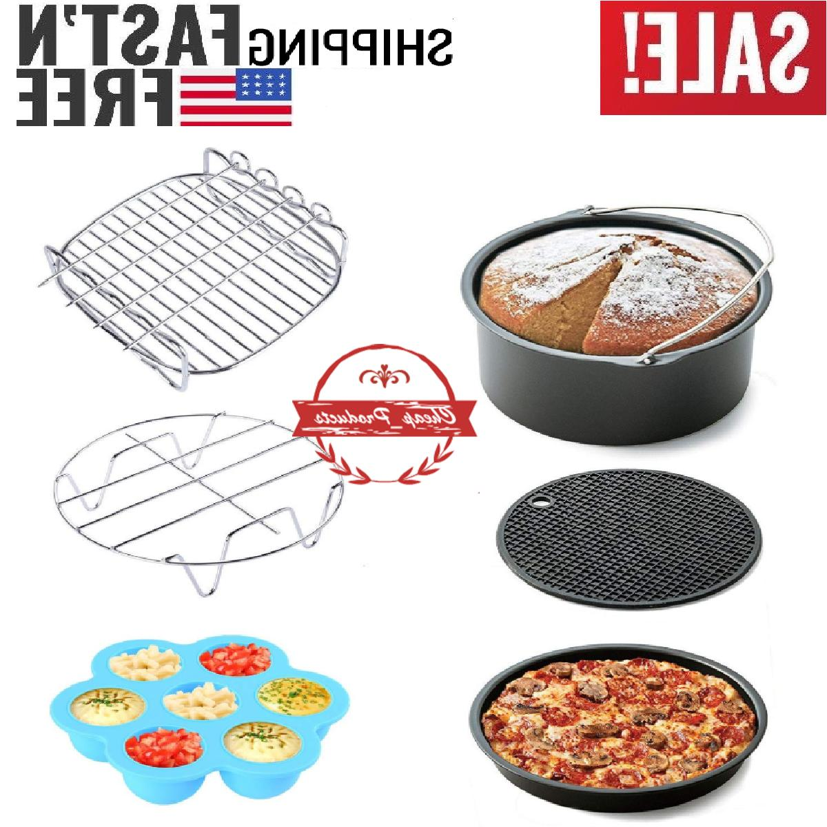air fryer accessories 7 inch 6 pieces