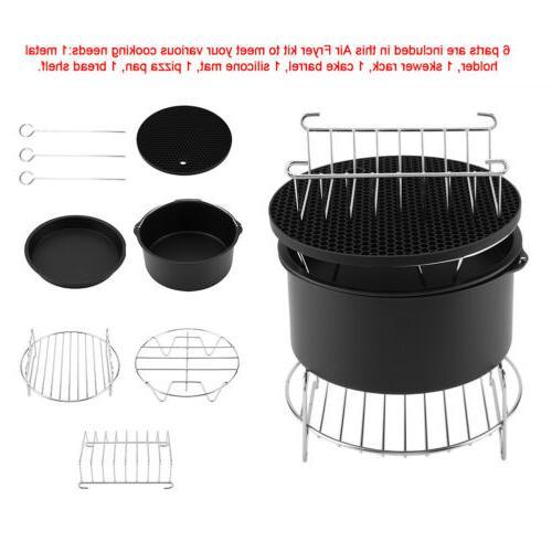 5 Air Accessories Airfryer Baking Cake