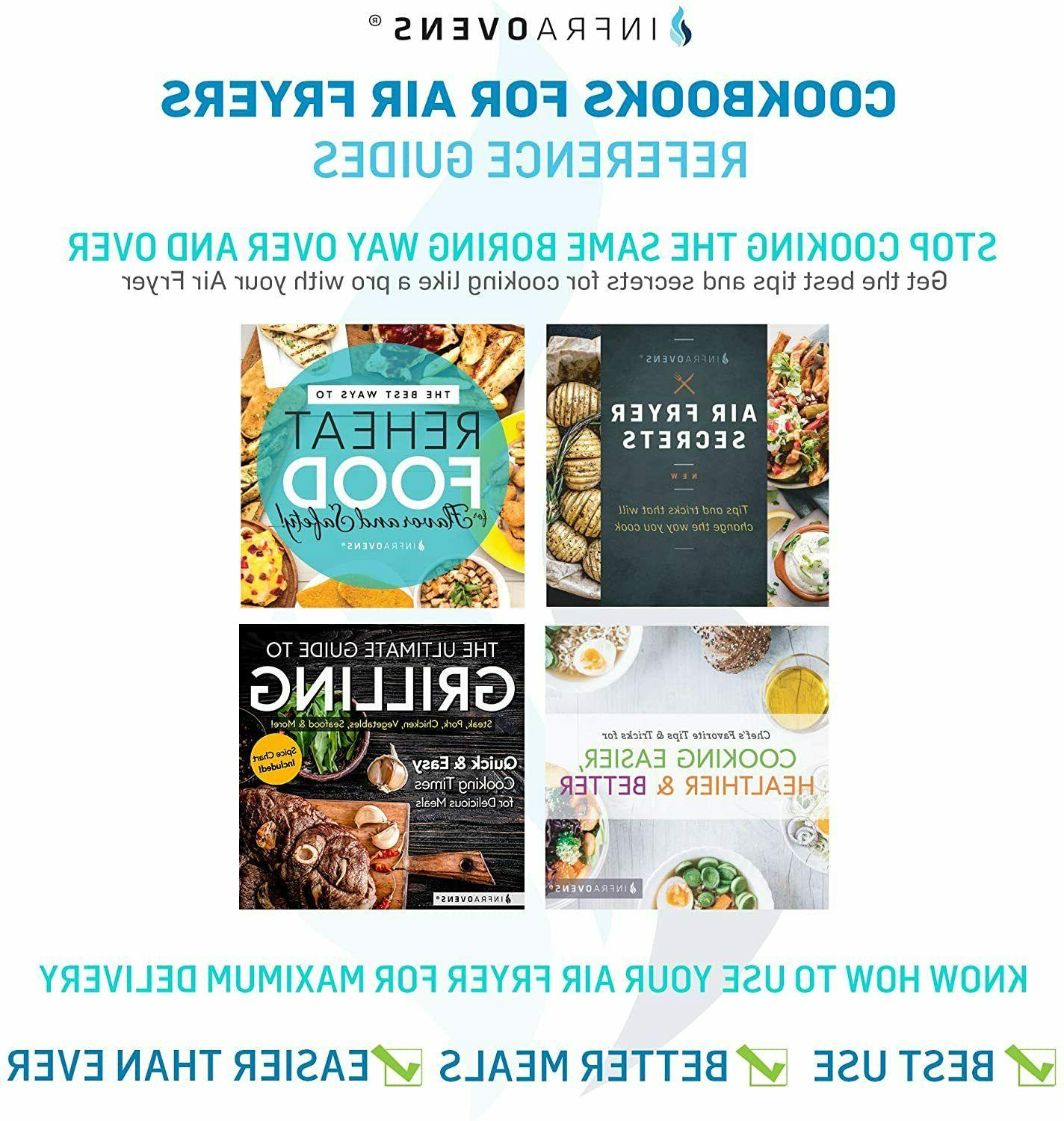 Air Fryer Accessories with Chefman AirFryer +MORE