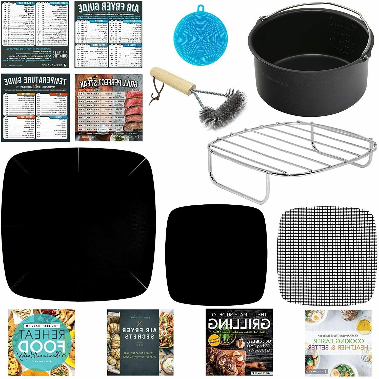 air fryer accessories compatible with chefman maxi