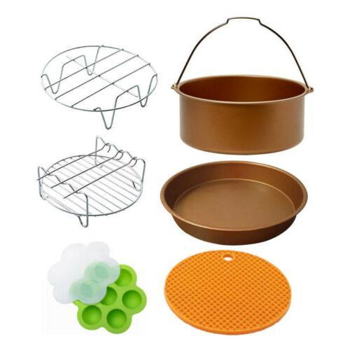 air fryer accessories airfryer baking basket barbeque