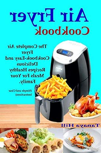 air fryer cookbook complete cookbook easy delicious recipes