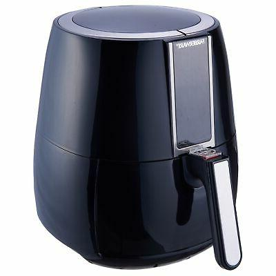 Air Digital Fryer, Black Counter cooker