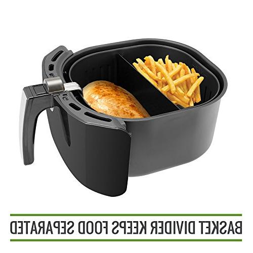 "Simple Living Fryer Cooking Compatible with 9"" Baskets. Fryer Divider Food"