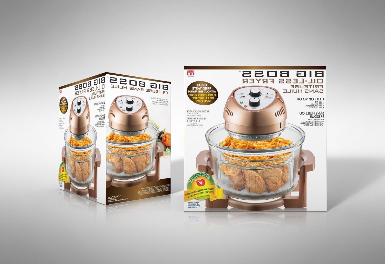 Big Air Fryer Healthy 1300W + Recipe 7