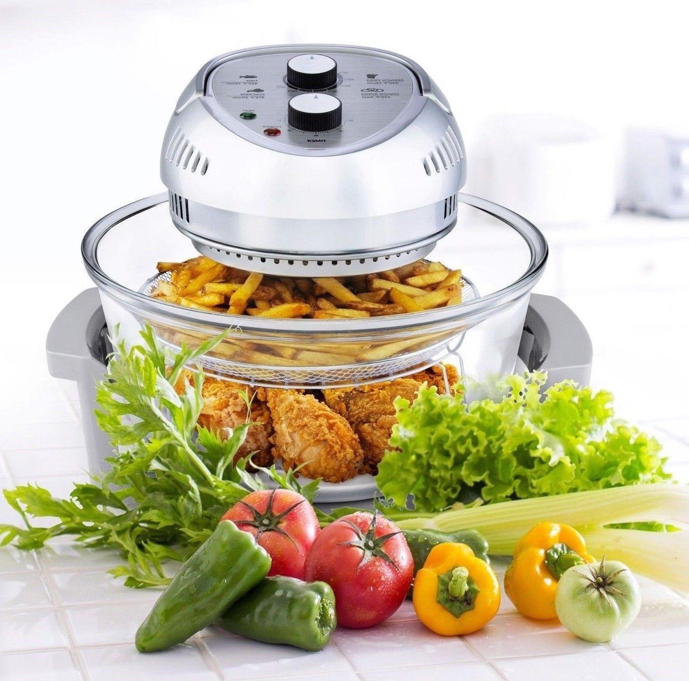 air fryer healthy 1300w xl 16 quart