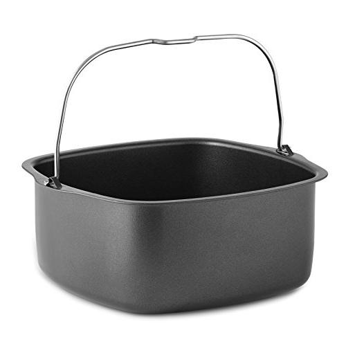 Air Fryer Baking Pan Fits GoWise Power Cozyna, Avalon Premium Mitts & Fryer