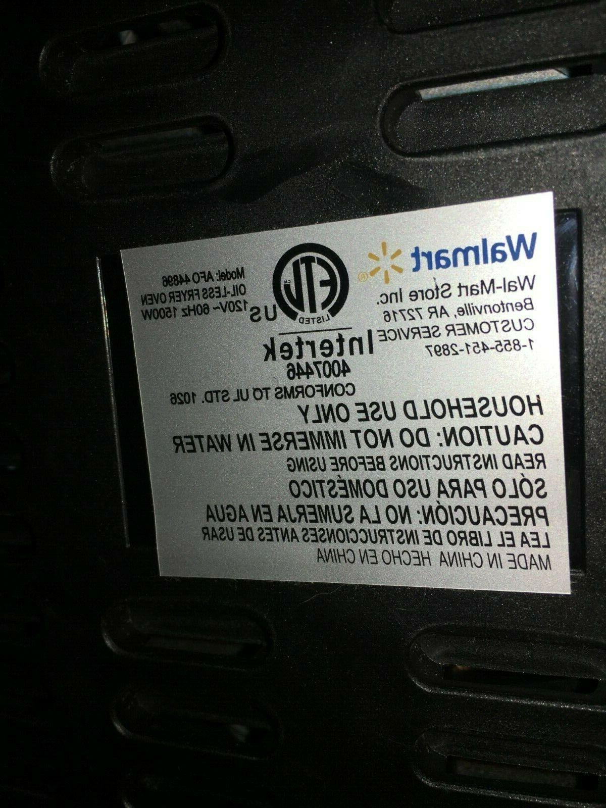 farberware air 6qt Afo-44896