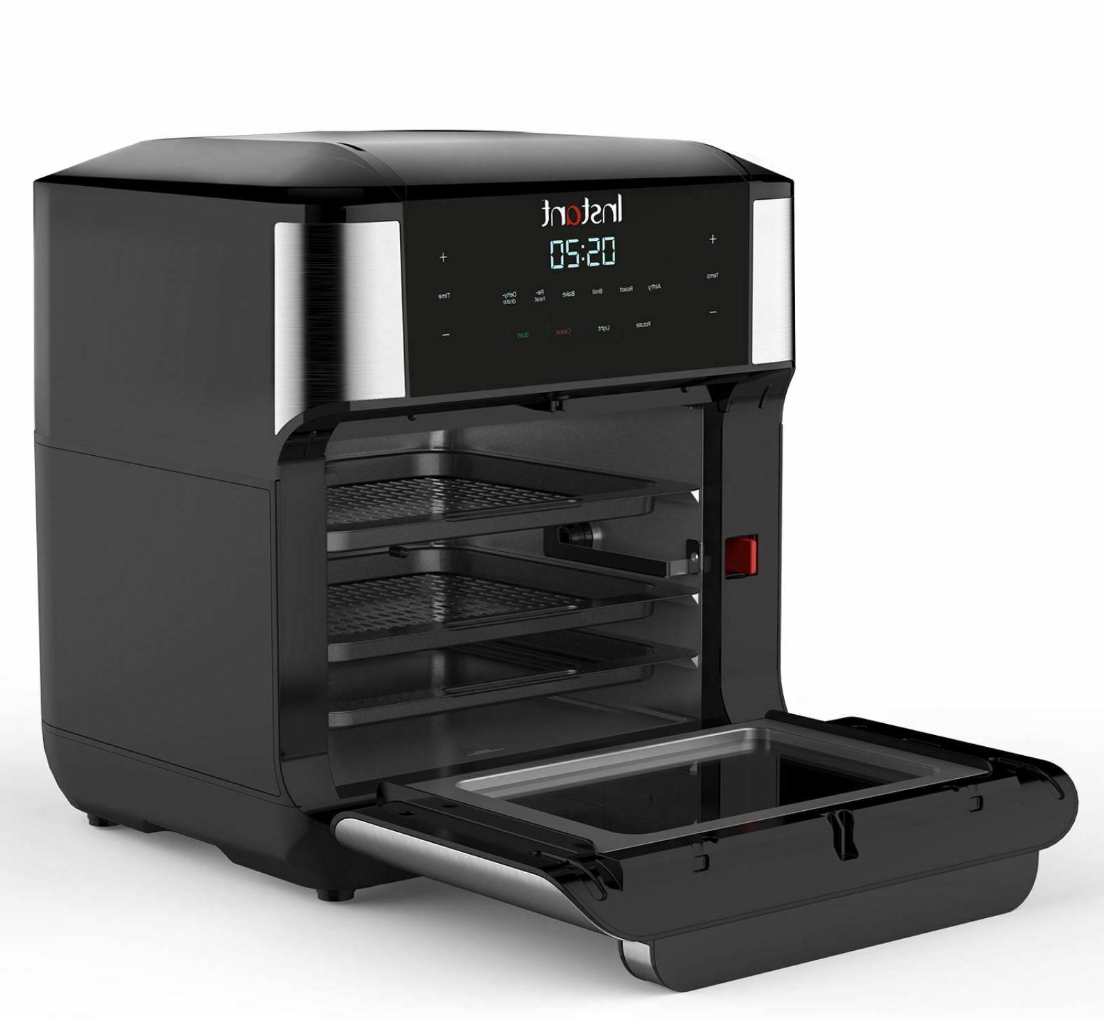 Air Fryer Oven 7-in-1 Digital 10-Quart Rotisserie Small