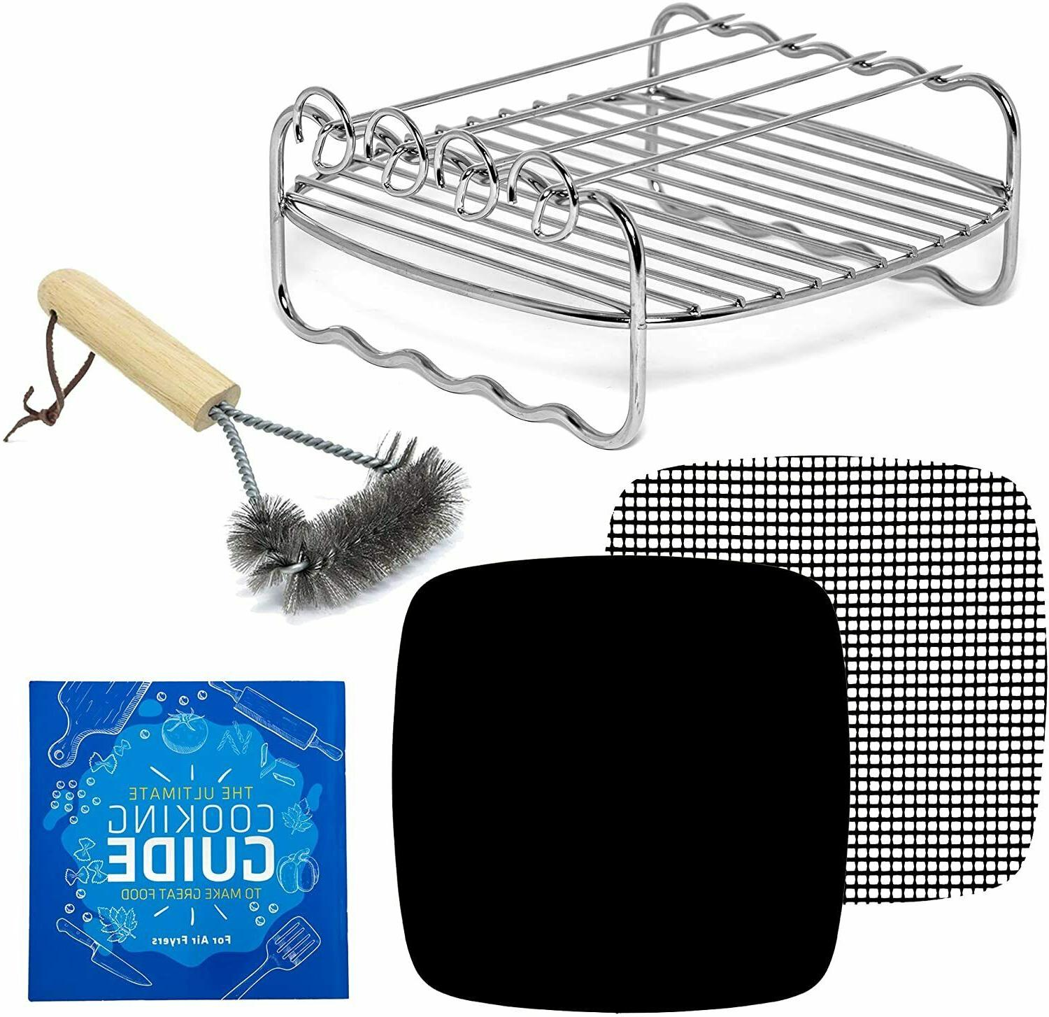 air fryer rack accessories compatible with zokop