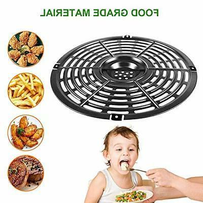 Air Pan Parts Round Crisper Plate Deep Fryer Pan 5QT