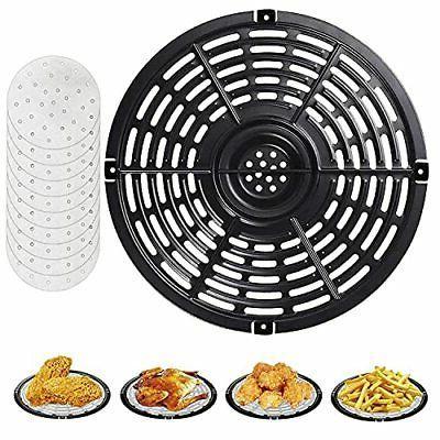 Air Fryer Replacement Grill Pan Parts Round Crisper Plate De